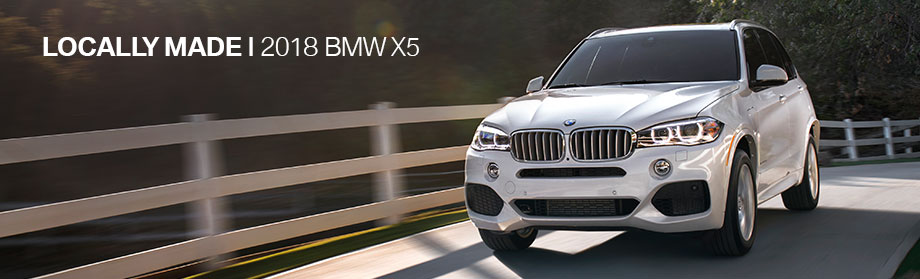Exterior of the 2018 BMW X5 at BMW of Columbia near Lexington, SC