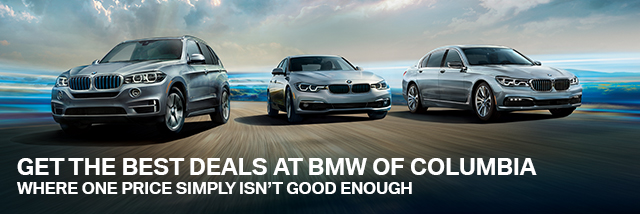 Get The Best Deals At BMW of Columbia