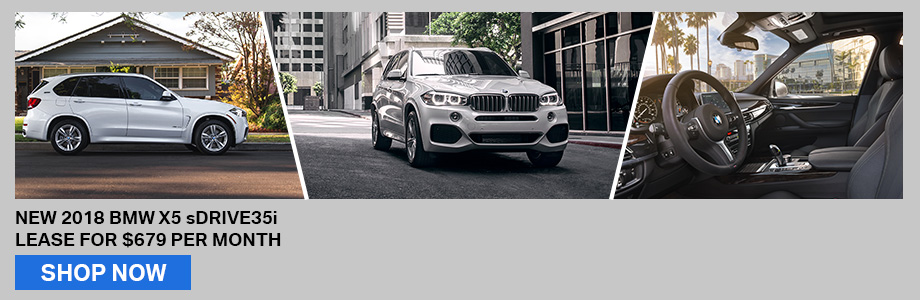 New 2018 BMW X5 sDrive35i