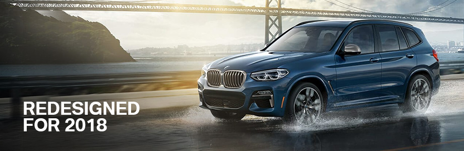 The 2018 BMW X3 is available at BMW of Columbia near Lexington, SC