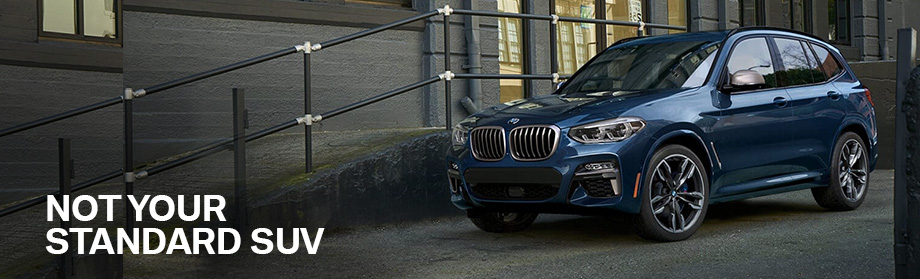 Exterior of the X3 at BMW of Columbia near Irmo, SC