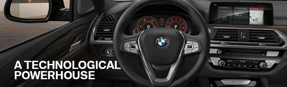Safety features and interior of the 2018 X3 - available at BMW of Columbia near Lexington and Irmo