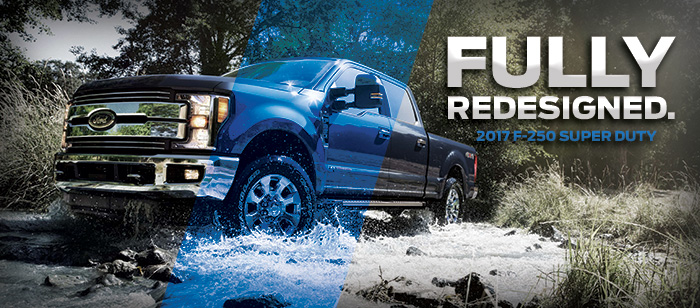The 2017 Super Duty is available at Brighton Ford near Denver, CO