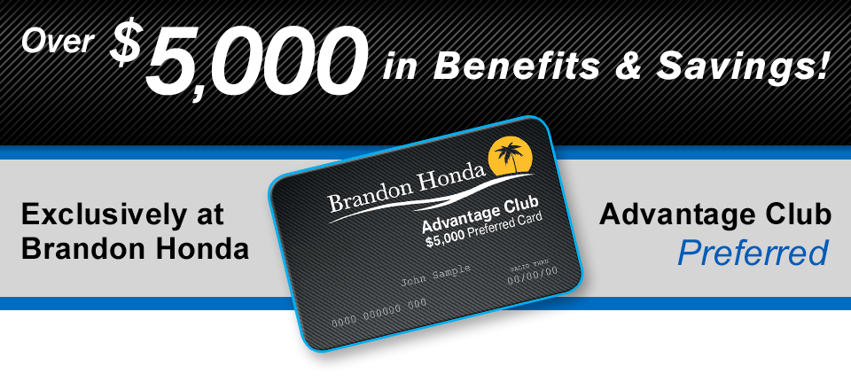 Brandon honda advantage club preferred reheart Image collections