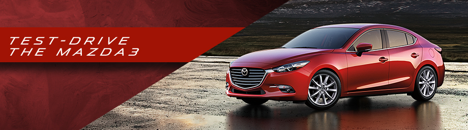 Test-drive the 2017 Mazda3 at Bob Moore Mazda in Oklahoma City