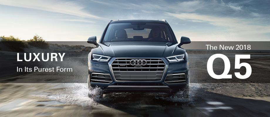 The 2018 Q5 is available at Audi Clearwater near Tampa