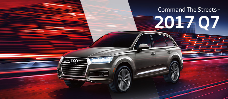 The 2017 Q7 is available at Audi Clearwater near Tampa