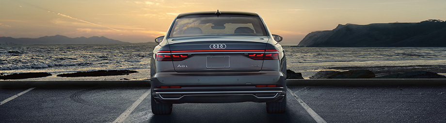 A8 EXTERIOR SHOWCASING THE REAR TOP LIGHT BAR