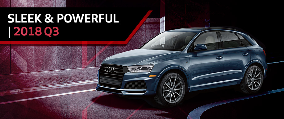 The 2018 Q3 is available at Audi Clearwater near St. Petersburg