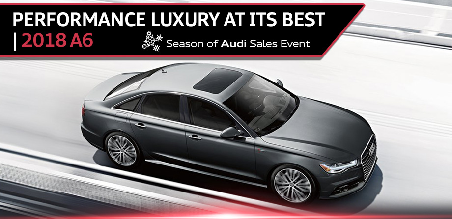 The 2018 A6 is available at Audi Clearwater near St. Petersburg