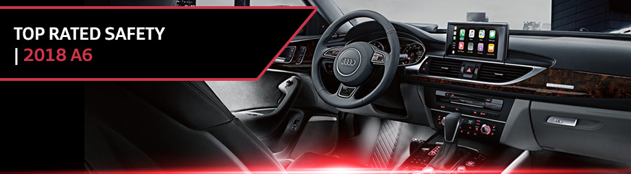 Safety features and interior of the 2018 A6 - available at Audi Clearwater near St. Petersburg and Palm Harbor