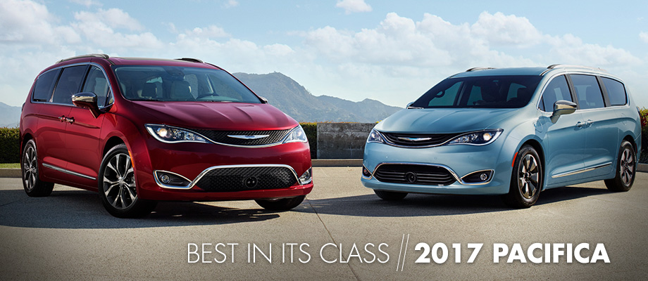 The 2017 Chrysler Pacifica is available at Crown CDJR in Cleveland near East Ridge, TN