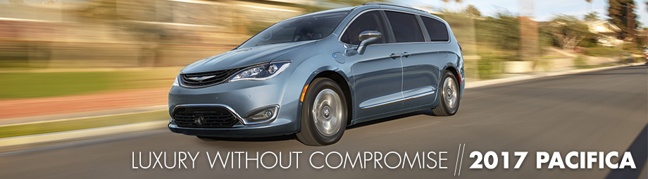 Safety features and interior of the 2017 Pacifica - available at Crown CDJR of Cleveland near Athens, TN