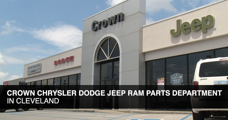 Crown Chrysler Dodge Jeep Ram Parts department in Chattanooga TN