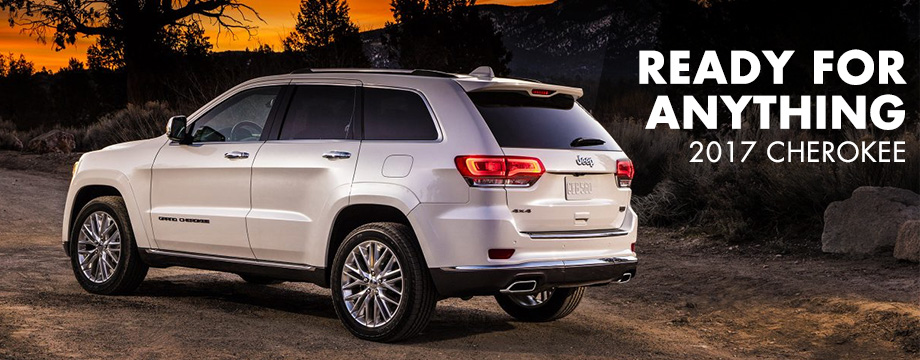 The 2017 Cherokee is available at Crown Chrysler Dodge Jeep Ram of Cleveland near Athens