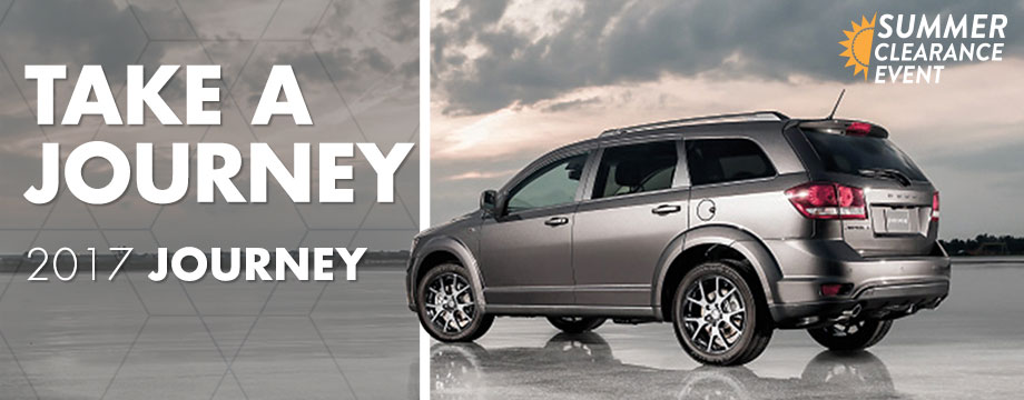 The 2017 Journey is available at Crown Chrysler Dodge Jeep RAM of Cleveland near Dayton