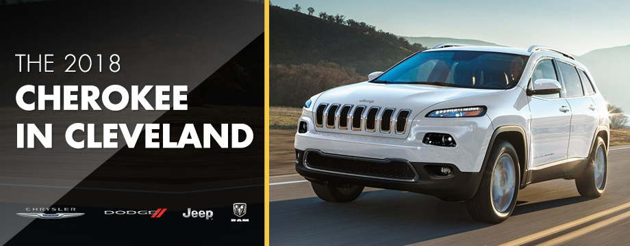 The 2018 Cherokee is available at Crown CDJR of Cleveland near Athens, TN