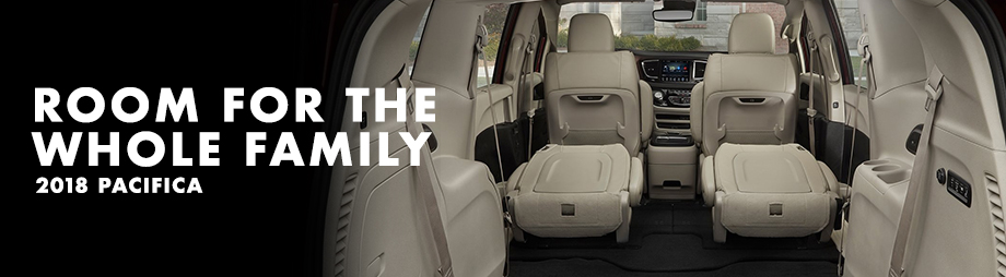 Safety features and interior of the 2018 Chrysler Pacifica - available at Crown Chrysler Dodge Jeep Ram of Dublin near Delaware and Dublin, OH
