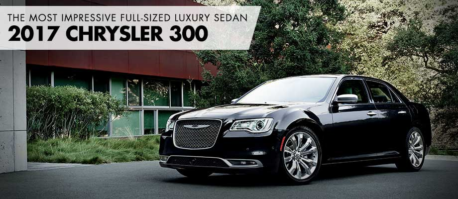 The 2017 Chrysler 300 is available at Crown Chrysler Dodge Jeep RAM in Dublin