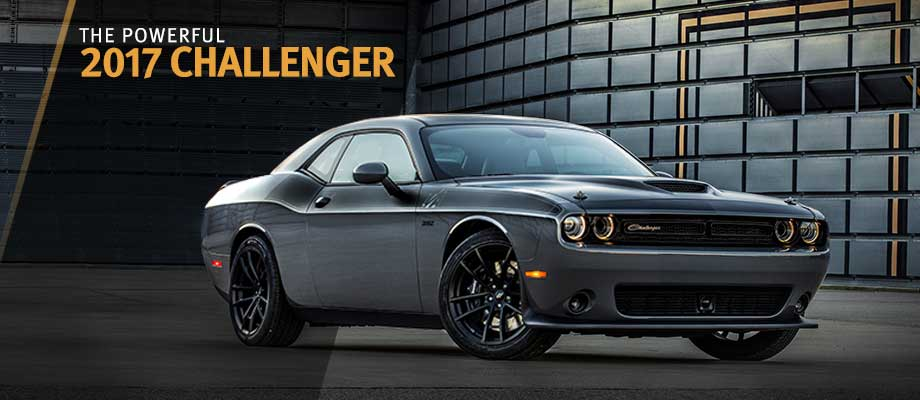 The 2017 Challenger is available at Crown Chrysler Jeep Dodge Of Dublin near Columbus