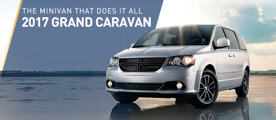 The 2017 Grand Caravan is available at Crown Chrysler Dodge Jeep RAM of Dublin near Columbus