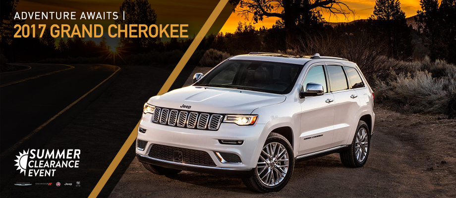 The 2017 Grand Cherokee is available at Crown CDJR of Dublin near Delaware