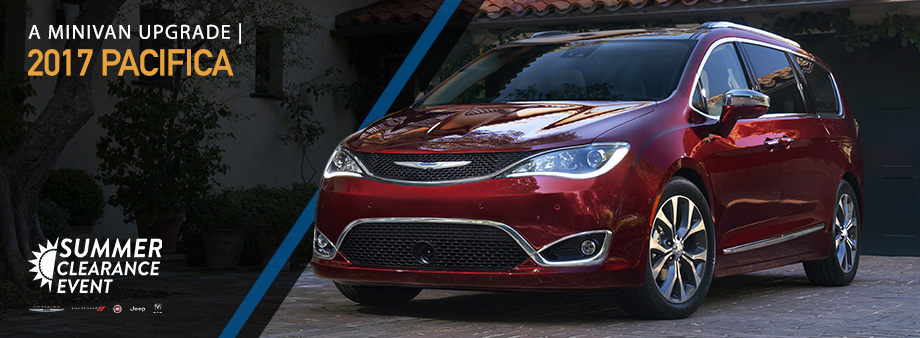 The 2017 Pacifica is available at Crown CDJR of Dublin near Columbus, OH