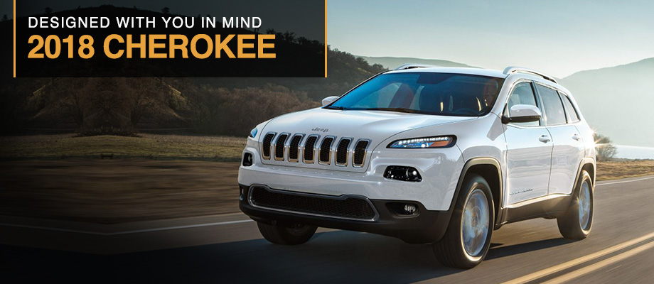 The 2018 Jeep Cherokee is available at Crown Chrysler Dodge Jeep Ram of Dublin near Columbus