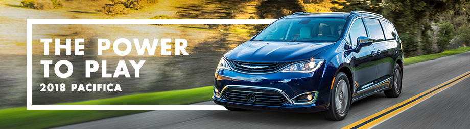Exterior of the 2018 Chrysler Pacifica at CDJR of Dublin near Delaware, OH