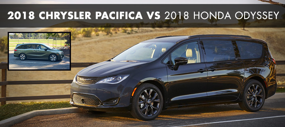 The 2018 Chrysler Pacifica at Crown Chrysler Dodge Jeep RAM of Chattanooga nearEast Ridge, TN