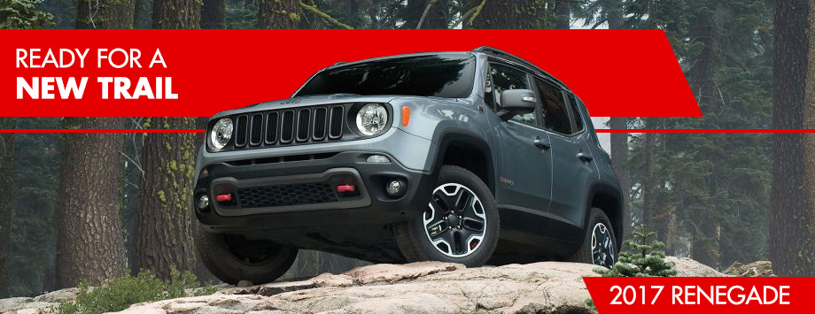 The 2017 Renegade is available at Crown Chrysler Dodge Jeep RAM of Chattanooga  near East Ridge, TN