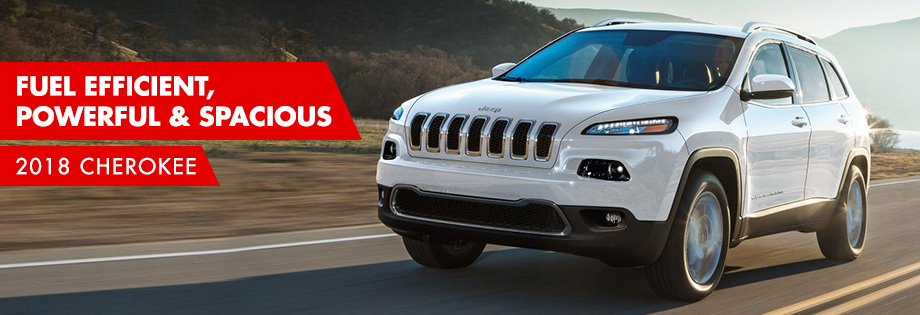 The 2018 Cherokee is available at Crown CDJR of Chattanooga near East Ridge
