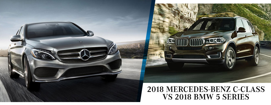 The 2018 Mercedes-Benz C-Class Vs. The 2018 BMW 5 Series in St. Petersburg, FL