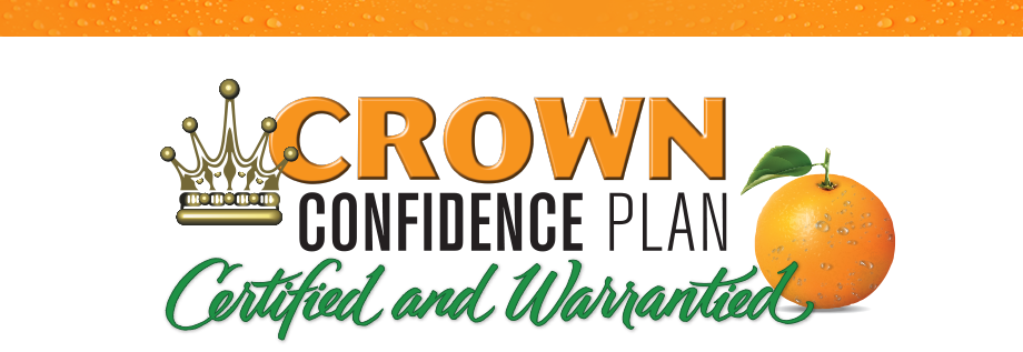 Crown Confidence Plan Certified and Warrantied