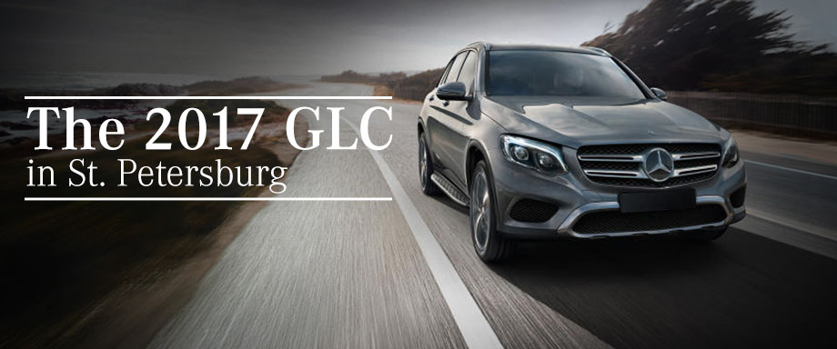 The 2017 GLC is available at Crown Eurocars in St. Petersburg