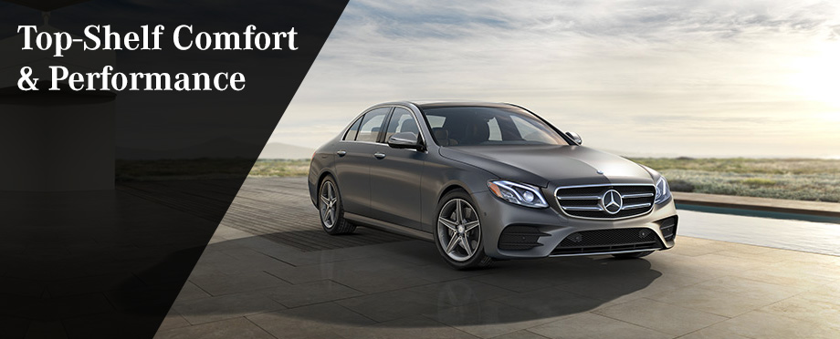 The 2017 E-Class is available at Crown Eurocars near Largo, FL