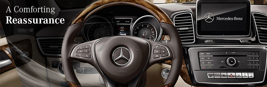 Safety features and interior of the 2018 GLE-Class - available at Crown Eurocars near Clearwater and Largo