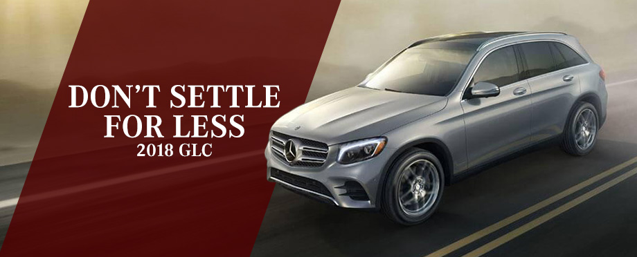 The 2018 GLC is available at Crown Eurocars in St. Petersburg
