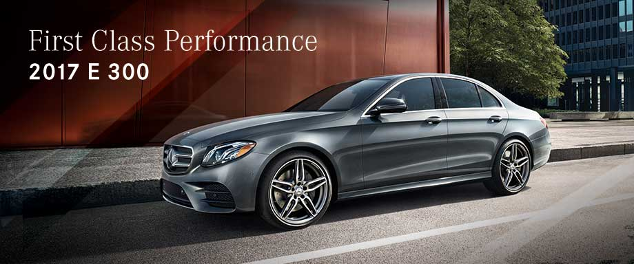 The 2017 E 300 is available at Crown Eurocars near Clearwater