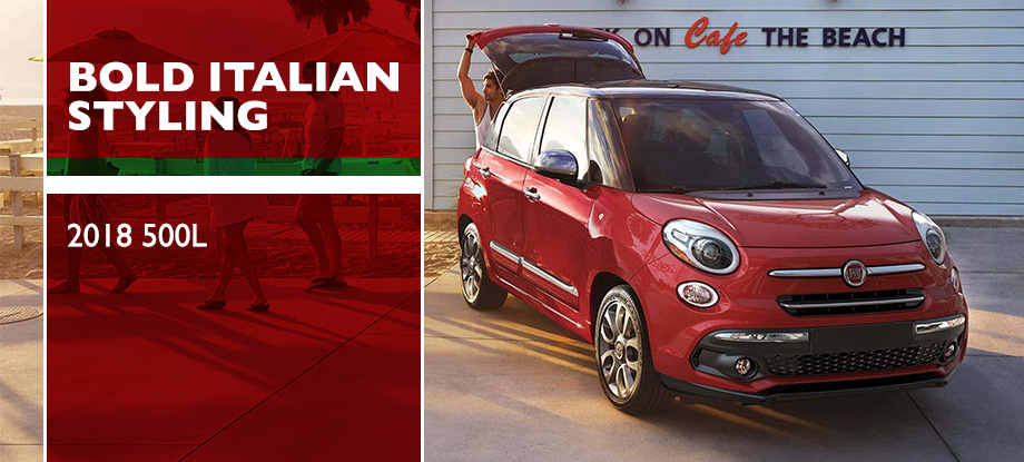 The 2018 FIAT 500L is available at Crown CDJRF of Chattanooga near Ringgold, GA