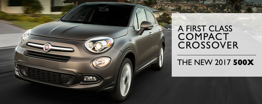 The 2017 FIAT 500X is available at Crown FIAT of Chattanooga near Sparta, TN