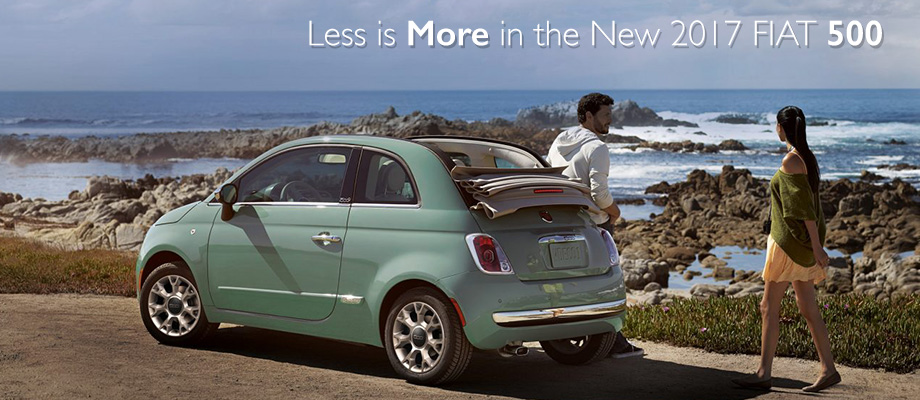 The 2017 Fiat 500 Is Available At Crown Of Dublin Near Columbus