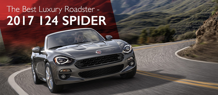 The 2017 124 Spider is available at Crown FIAT of Dublin near Columbus