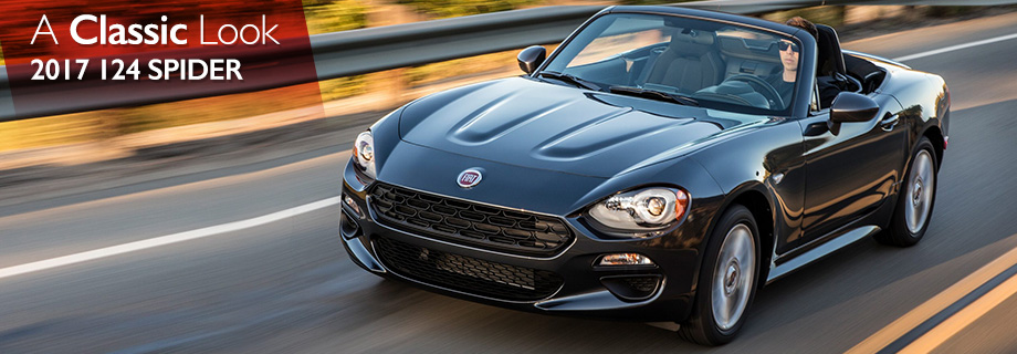 Exterior of the 2017 124 Spider at Crown FIAT of Dublin near Springfield
