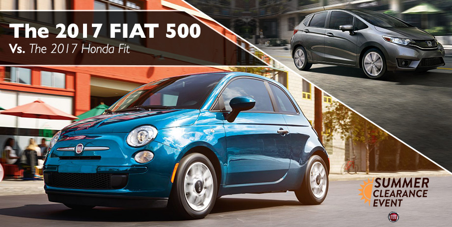 The 2017 500 is available at Crown FIAT of Dublin near Springfield, OH