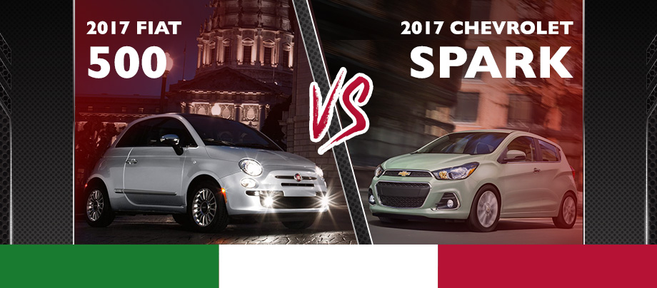 The 2017 500 is available at Crown FIAT of Dublin near Columbus