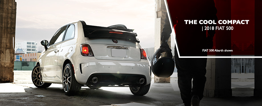 The 2018 FIAT 500 is available at Crown FIAT of Dublin in Dublin, OH