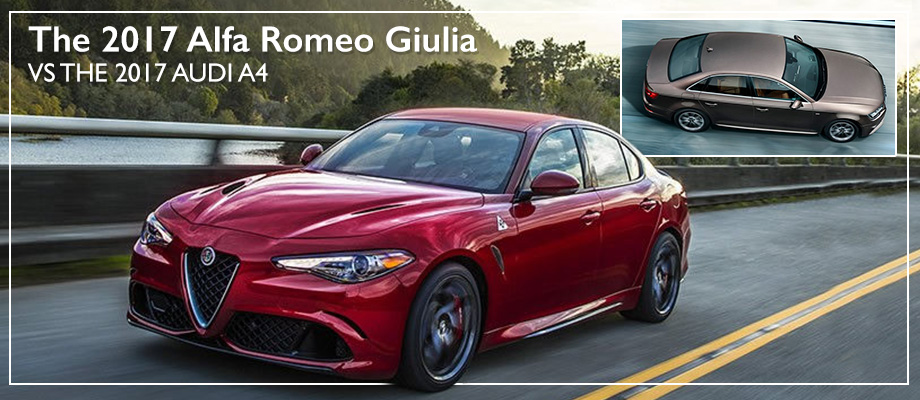 The 2017 Giulia is available at Crown Alfa Romeo near Columbus, OH