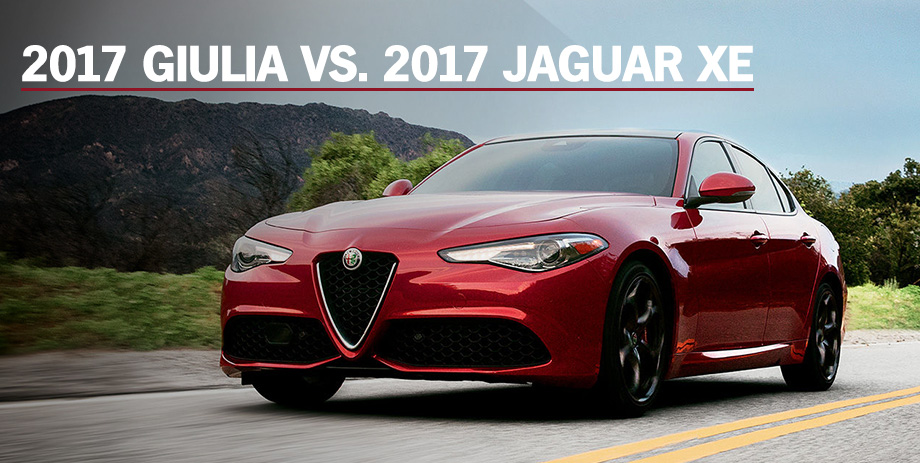 The 2017 Giulia is available at Crown Alfa Romeo of Dublin near Columbus, OH