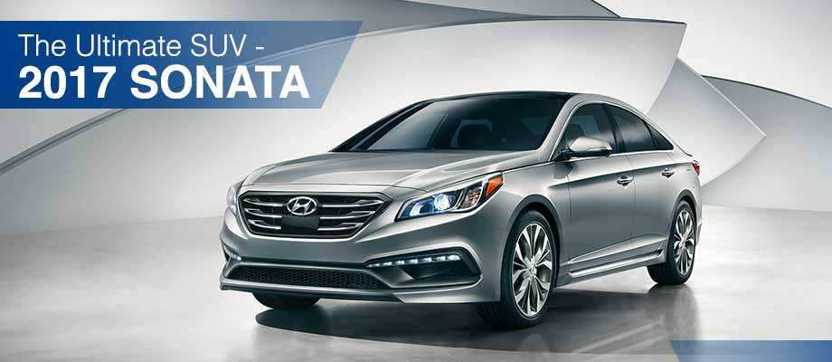 The 2017 Sonata is available at Crown Hyundai near Clearwater